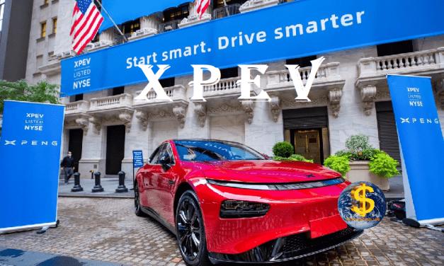 XPEV.-Xpeng Inc., Un buen valor para apuntarnos al futuro eléctrico del automóvil.